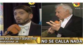 Diego Junior apuntó contra Guillermo Cóppola: Si lo cruzo ni lo saludo