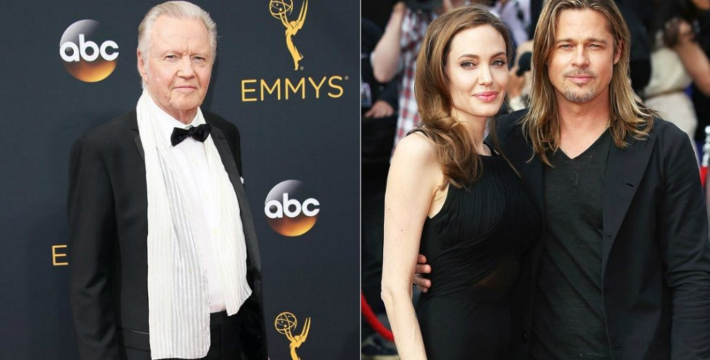 Debe haber pasado algo serio, dijo el papá de Angelina Jolie sobre la separación de Brad Pitt