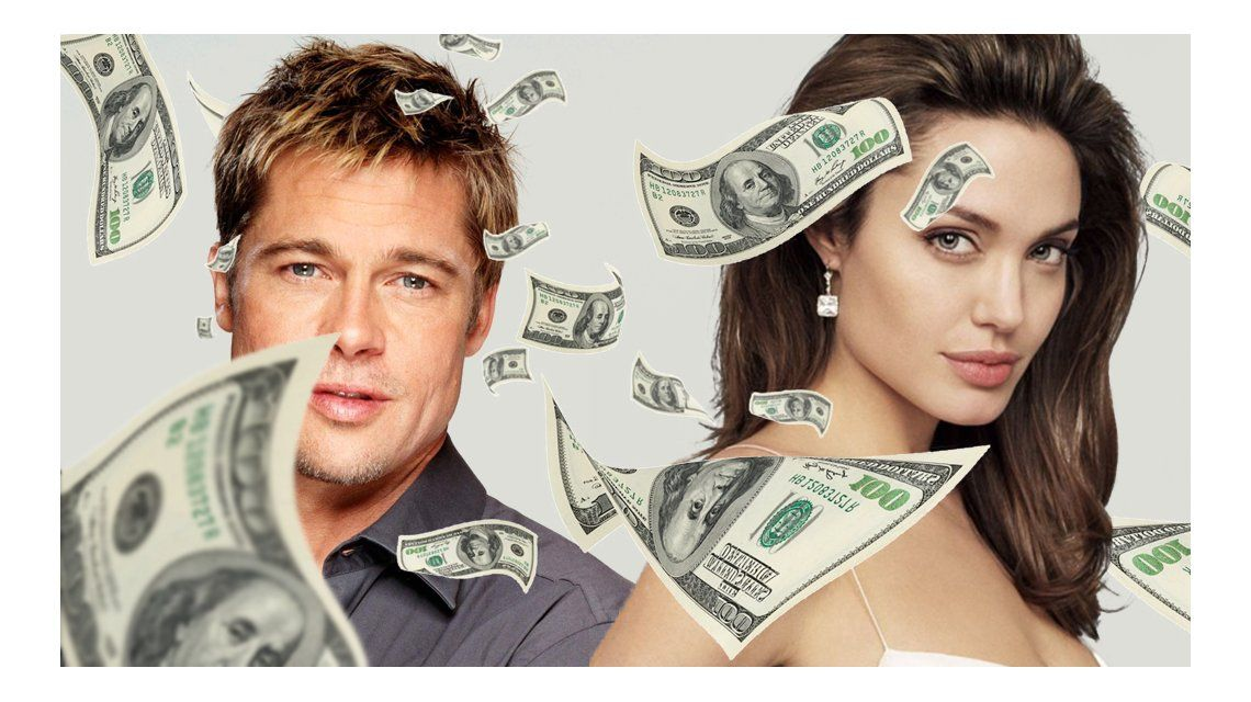 ¿Cuántos millones se van a dividir Brad Pitt y Angelina Jolie?