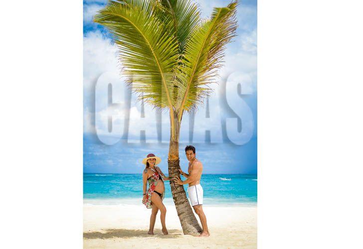 ¿Fue canje? El álbum de Amalia Granata y Leo Squarzon en un hotel 5 estrellas de Punta Cana