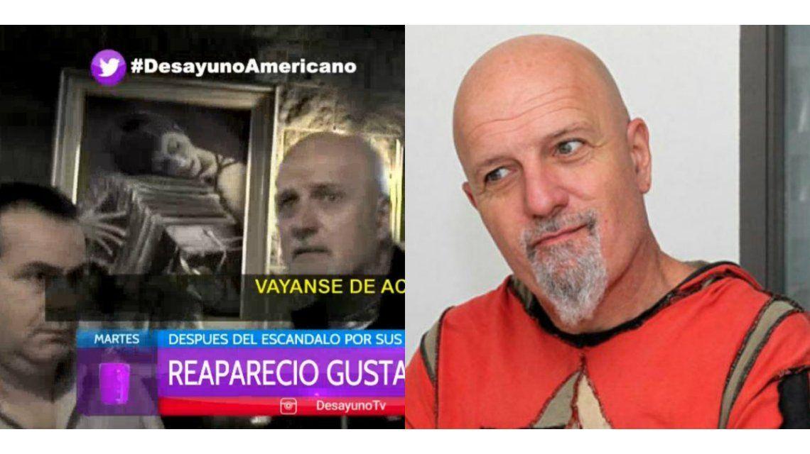 Después de sus polémicas declaraciones, la actitud agresiva de Gustavo Cordera con un periodista