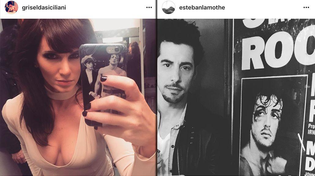 El detalle que une a Griselda Siciliani y Esteban Lamothe