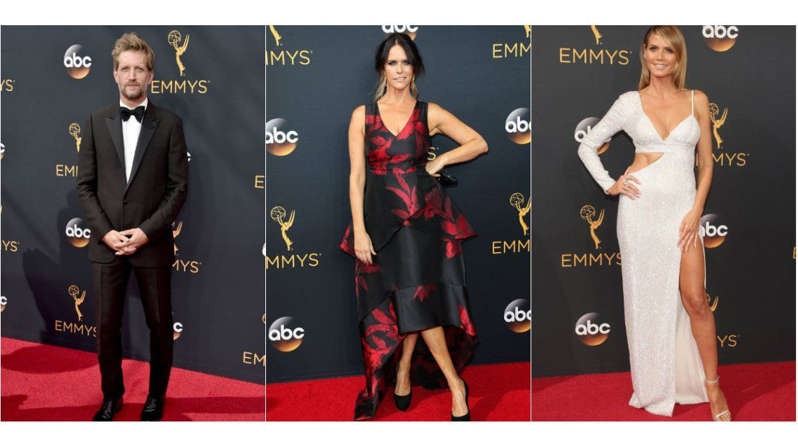 Premios Emmy 2016: los looks de los famosos en la alfombra roja