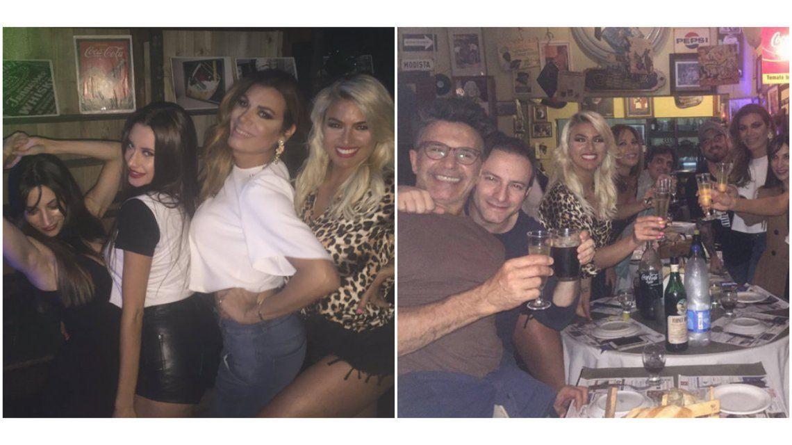Noche de cumpleaños y fiesta para Ailén Bechara, Magui Bravi, Flor de la Ve y todo el elenco de Enredados