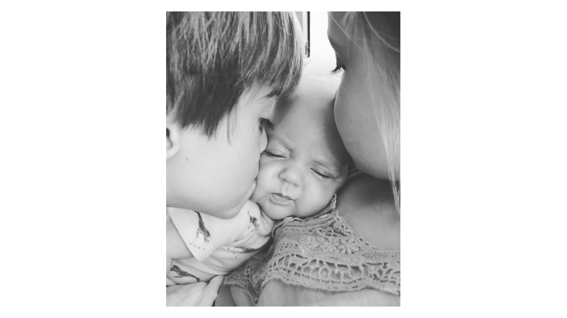 Rocío Guirao Díaz y la foto más tierna de sus tres hijos juntos: El amor es así