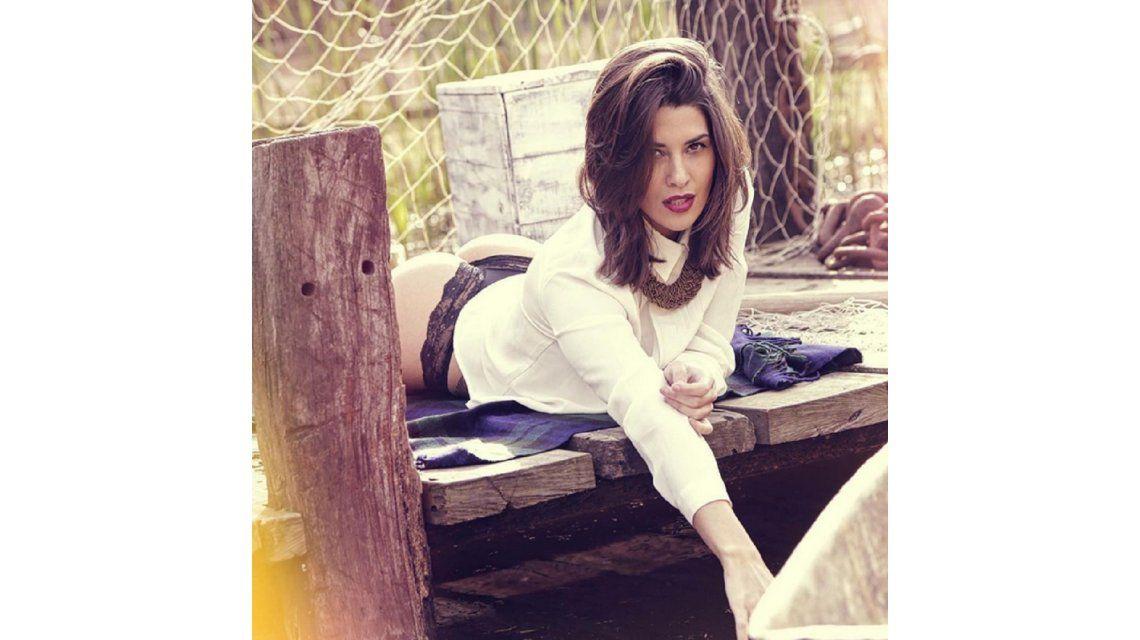 El backstage sensual de Ivana Nadal: lencería y poses sugestivas
