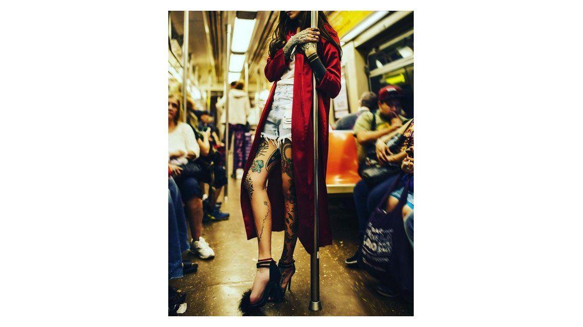 Cande Tinelli, chica trendy y elegante: paseó por Nueva York en ¡taco aguja!