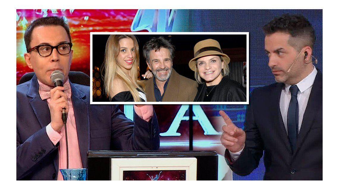 Osvaldo Laport insiste en enrostrarle su familia a Marcelo Polino y Ángel de Brito: ¿Estarán enamorados de mi mujer y de mi hija?