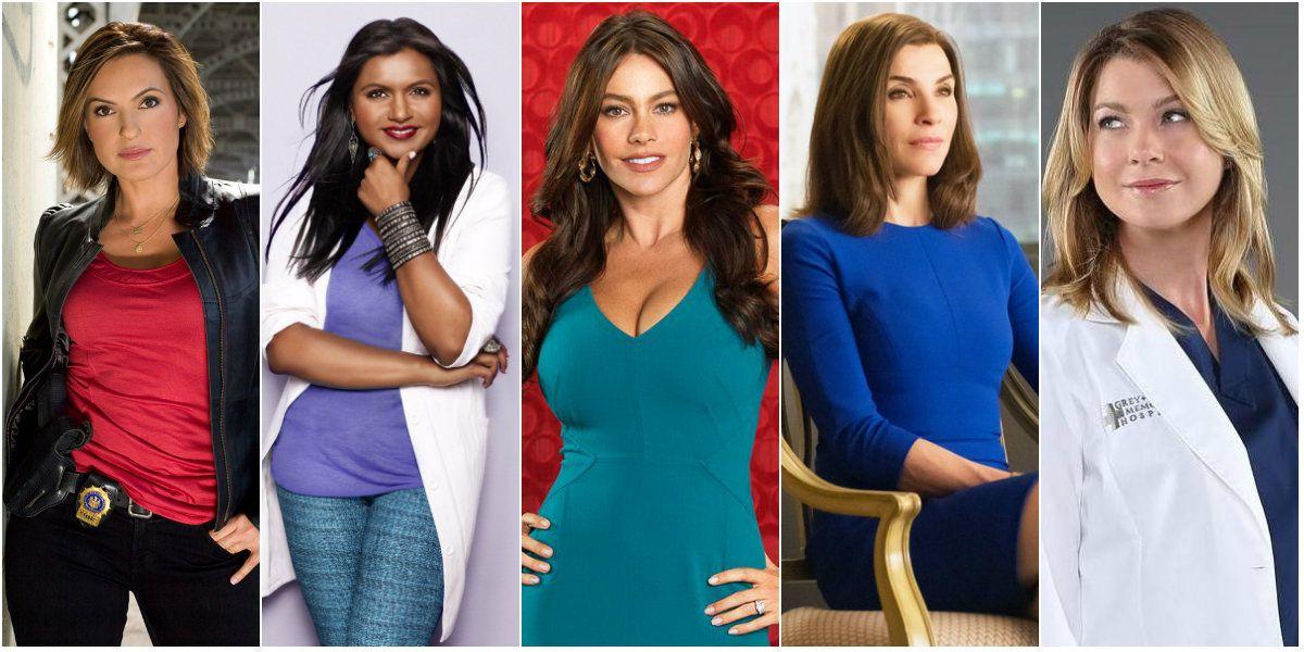 Las 10 actrices mejores pagas de la TV
