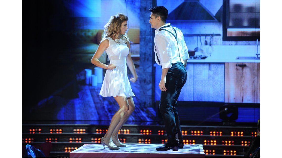 María del Cerro, todoterreno: bailó, zapateó, hizo un striptease y se llevó el puntaje más alto