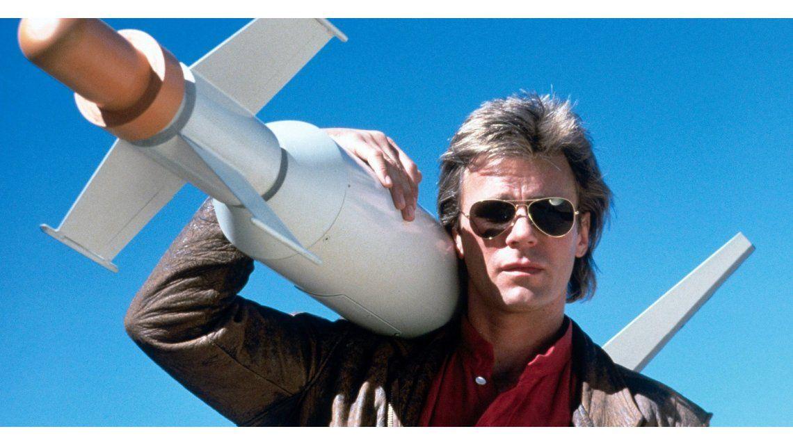 Así está el protagonista de MacGyver, 24 años después