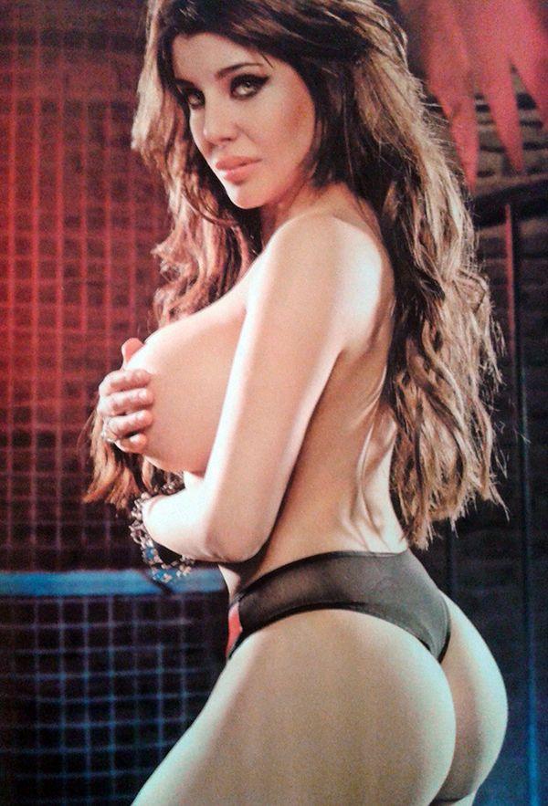 Charlotte Caniggia, villana en una producción hot