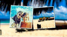 Granata y Squarzon, en Aruba:  Estoy disfrutando de esta hermosa familia
