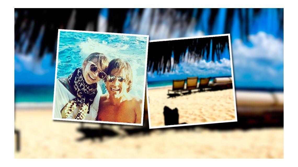 Amalia Granata y Leo Squarzon hablaron desde Aruba: Tenemos una relación muy limpia y no nos estamos ocultando cosas