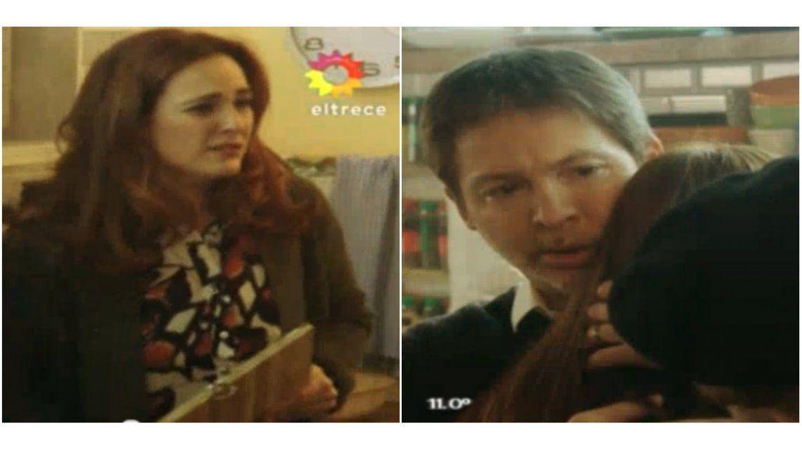 La escena más dramática de Silencios de familia: llanto, gritos y descontrol en la separación de Suar y Julieta Díaz