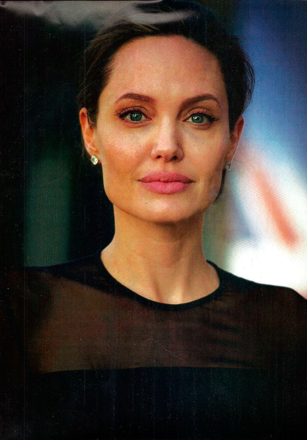 Angelina Jolie: un kilo por año de vida
