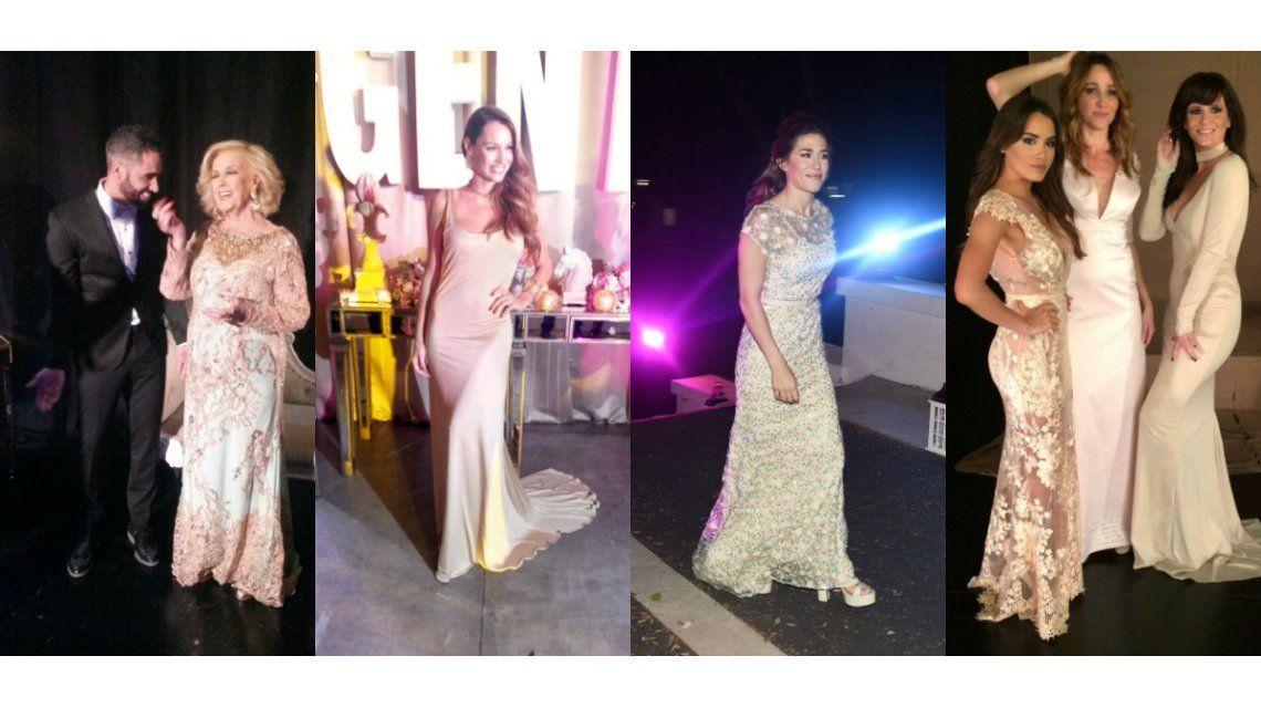 ¿Qué dijeron Mirtha Legrand, Pampita, Jimena Barón y Lali Espósito en la gala de Gente?