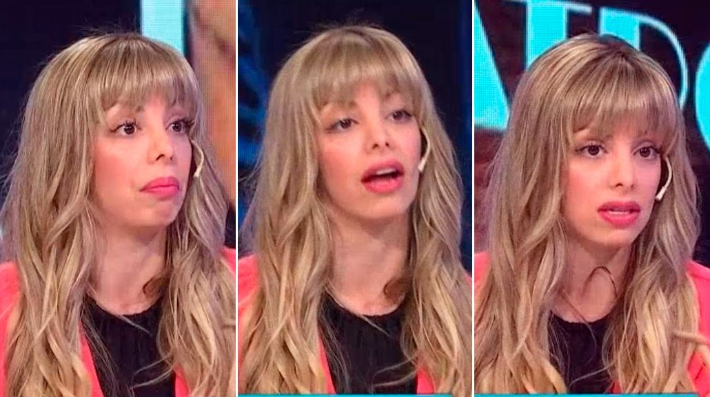 Gisela Bernal apareció con nuevo look en televisión y la matan en las redes: El flequillo tiene vida propia