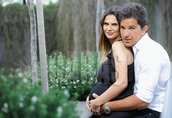 Nació Roque, el hijo de Amalia Granata con Leonardo Squarzon