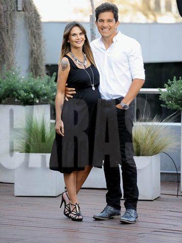 Amalia Granata celebró su aniversario con Squarzon pero recordó la infidelidad