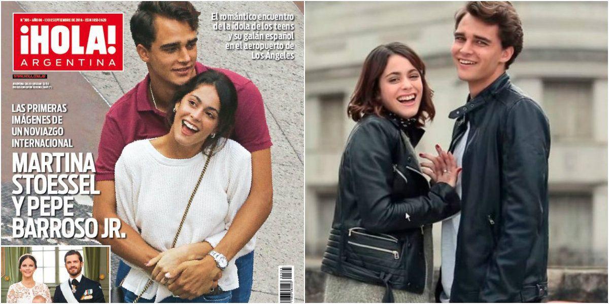 Las primeras imágenes del noviazgo de Martina Stoessel y Pepe Barroso, y el divertido viaje de Florencia Bertotti