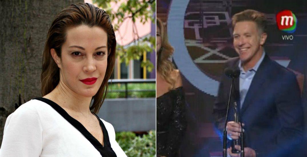 Elocuente comentario de Alejandro Fantino sobre su crisis con Miriam Lanzoni al recibir un premio