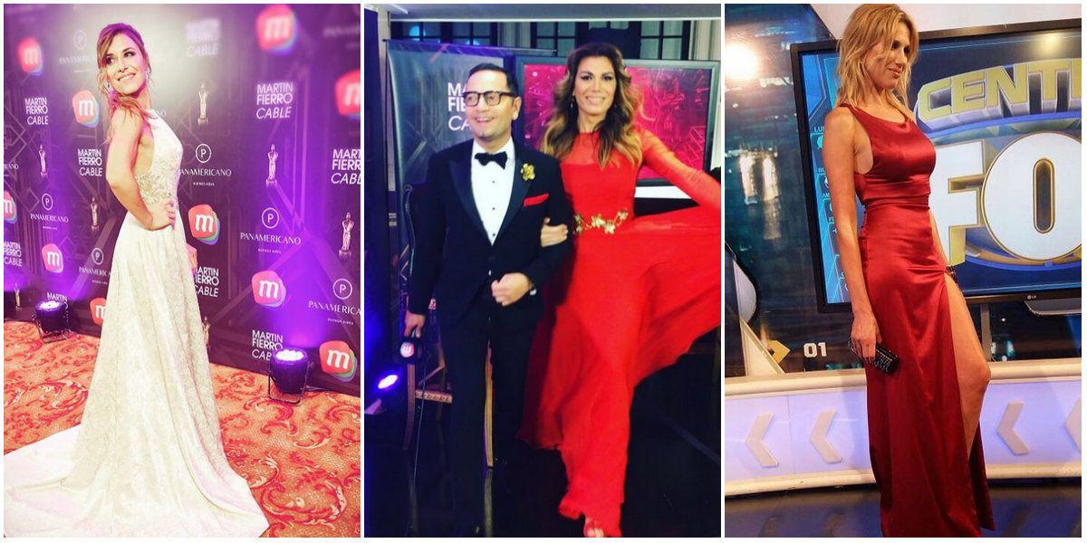 Elegancia y sensualidad: los looks de los famosos en los Martín Fierro de Cable 2016