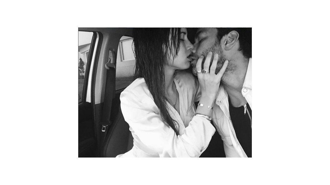 Relación fogosa: la romántica foto de Mariano Martínez con su novia Camila Cavallo