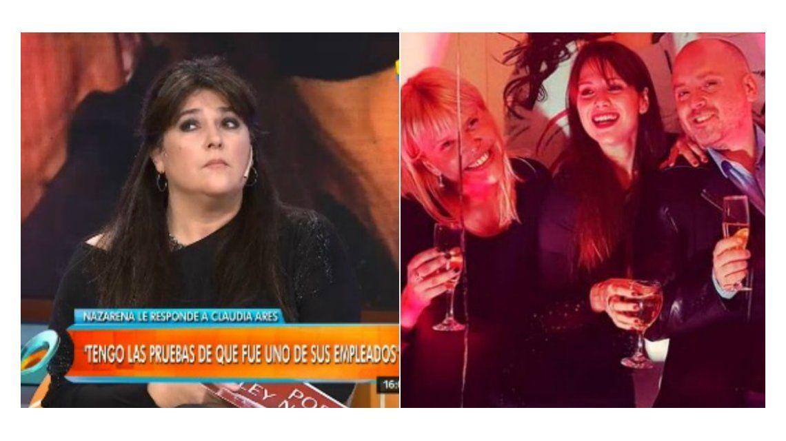 Fuerte cruce de Nazarena Vélez con la mujer de Carna por el polémico audio de Muscari contra Fede Bal