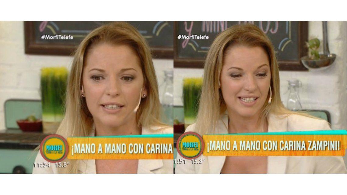 Entre lágrimas, Carina Zampini recordó cuál fue el beso más especial de su vida
