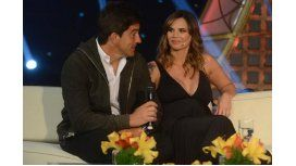 Granata, junto a su pareja en el living de Susana: No me molesta que me digan c...