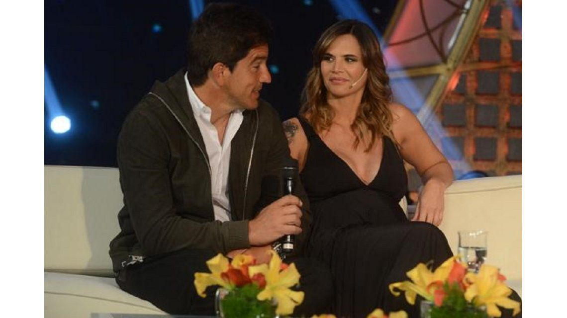 Amalia Granata, junto a su pareja en el living de Susana Giménez: No me molesta que me digan cornuda