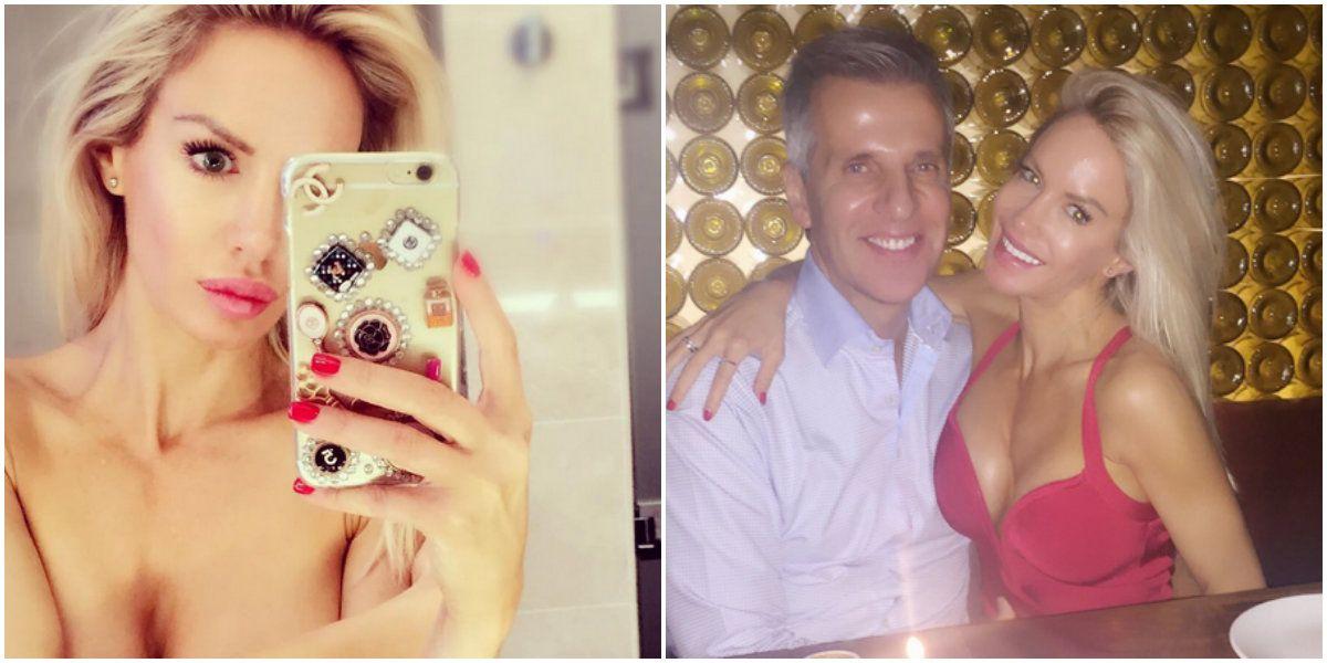 Luciana Salazar, en Nueva York: foto sexy en topless y festejo con Martín Redrado