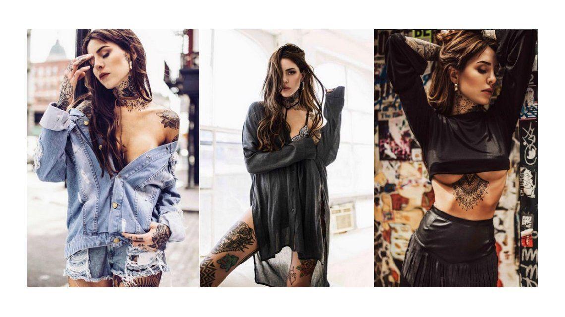 Candelaria Tinelli viajó para hacerse un nuevo tatuaje: Celebrando la primavera de la mejor manera