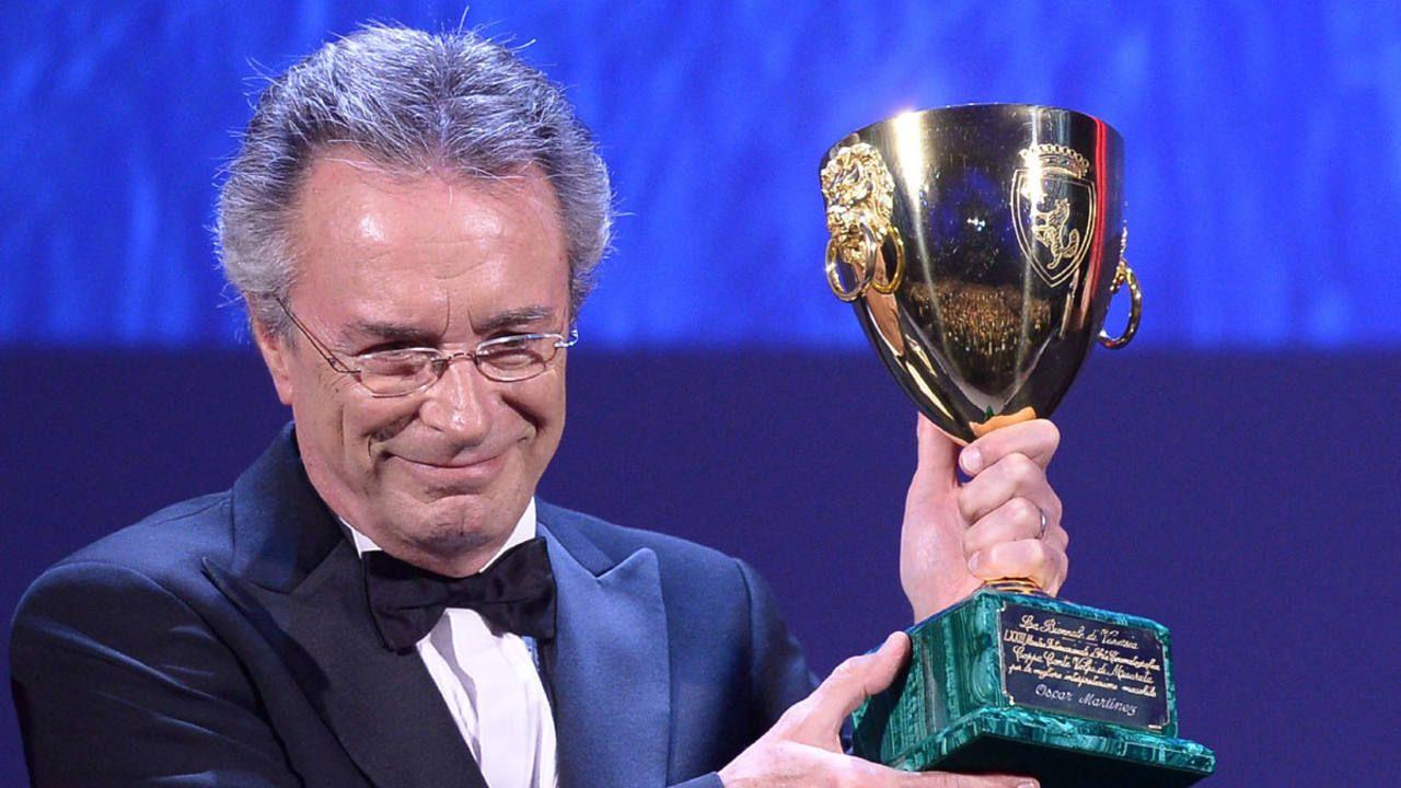 ¿Qué nos van a premiar a nosotros?, pensó Oscar Martínez en el Festival de Venecia