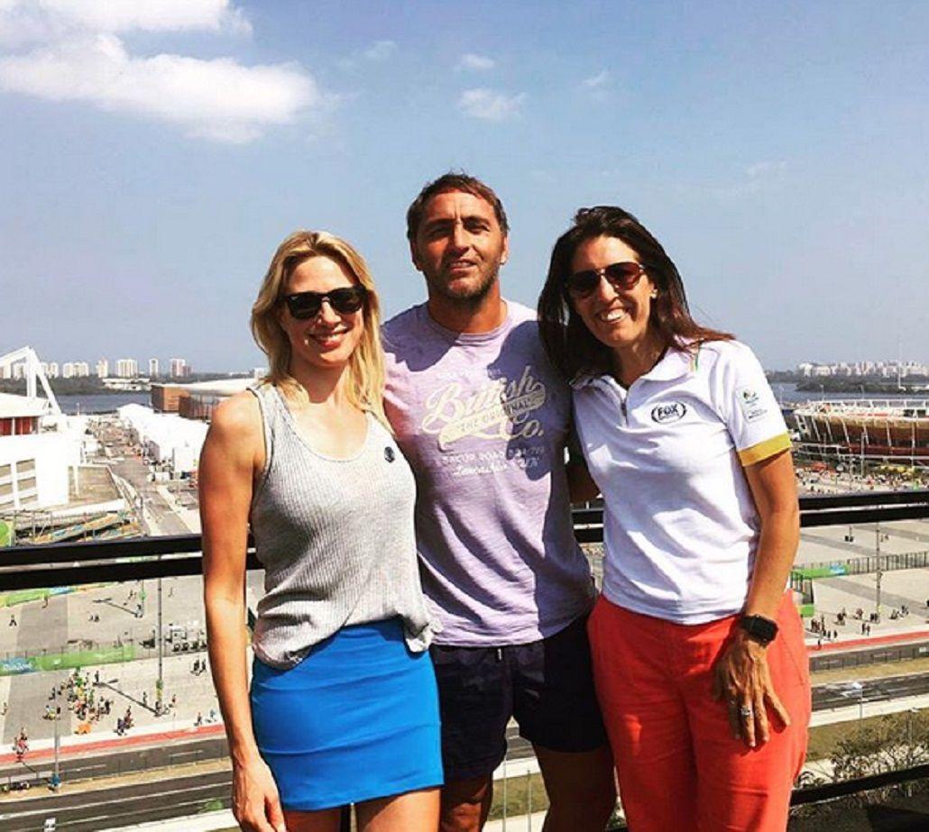 Alina Moine confirmó su noviazgo con el Chapa Retegui, técnico de Los Leones