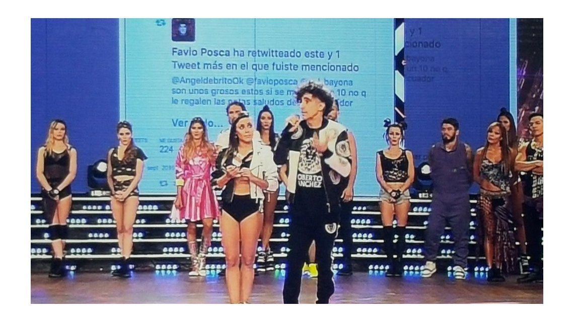 Reveladora confesión de la bailarina de Favio Posca: Me dijo cosas poco felices y me fui a llorar a un camarín