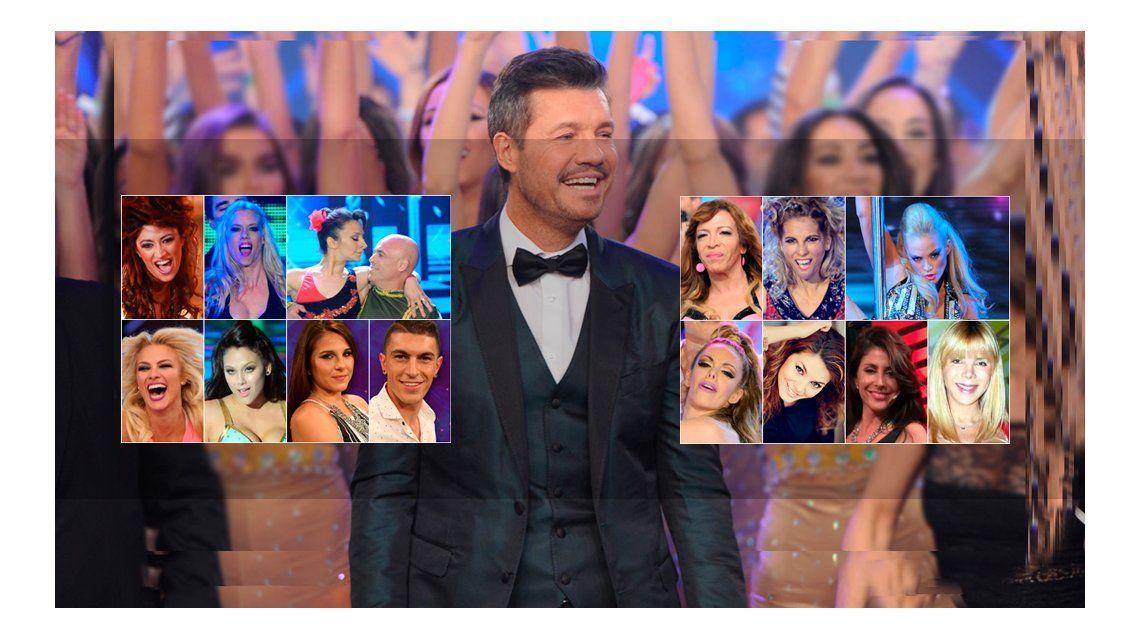 Tinelli dio la lista de candidatos para sumarse al Bailando 2016