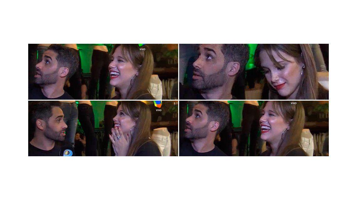 Barbie Vélez y el Pollo Álvarez, ¿juntos?: risas, miradas cómplices y beso