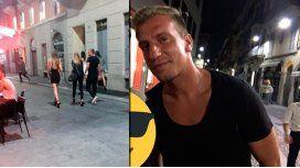 Escrachan a Maxi López con cuatro mujeres mientras su novia está en París