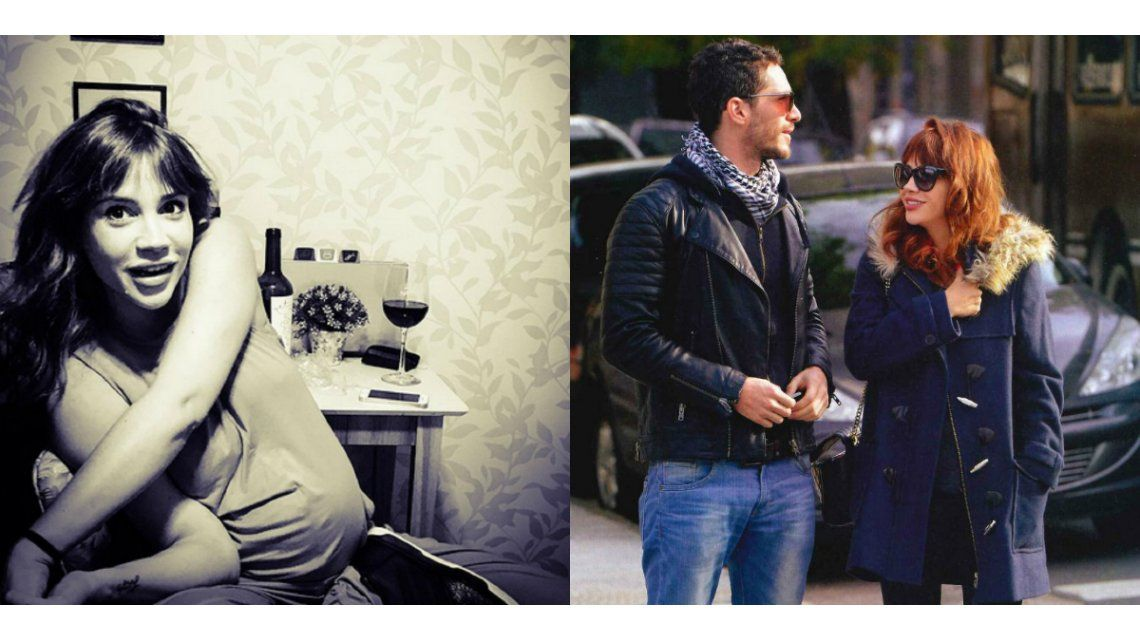Michel Noher publicó una foto casual de Celeste Cid embarazada y un romántico mensaje