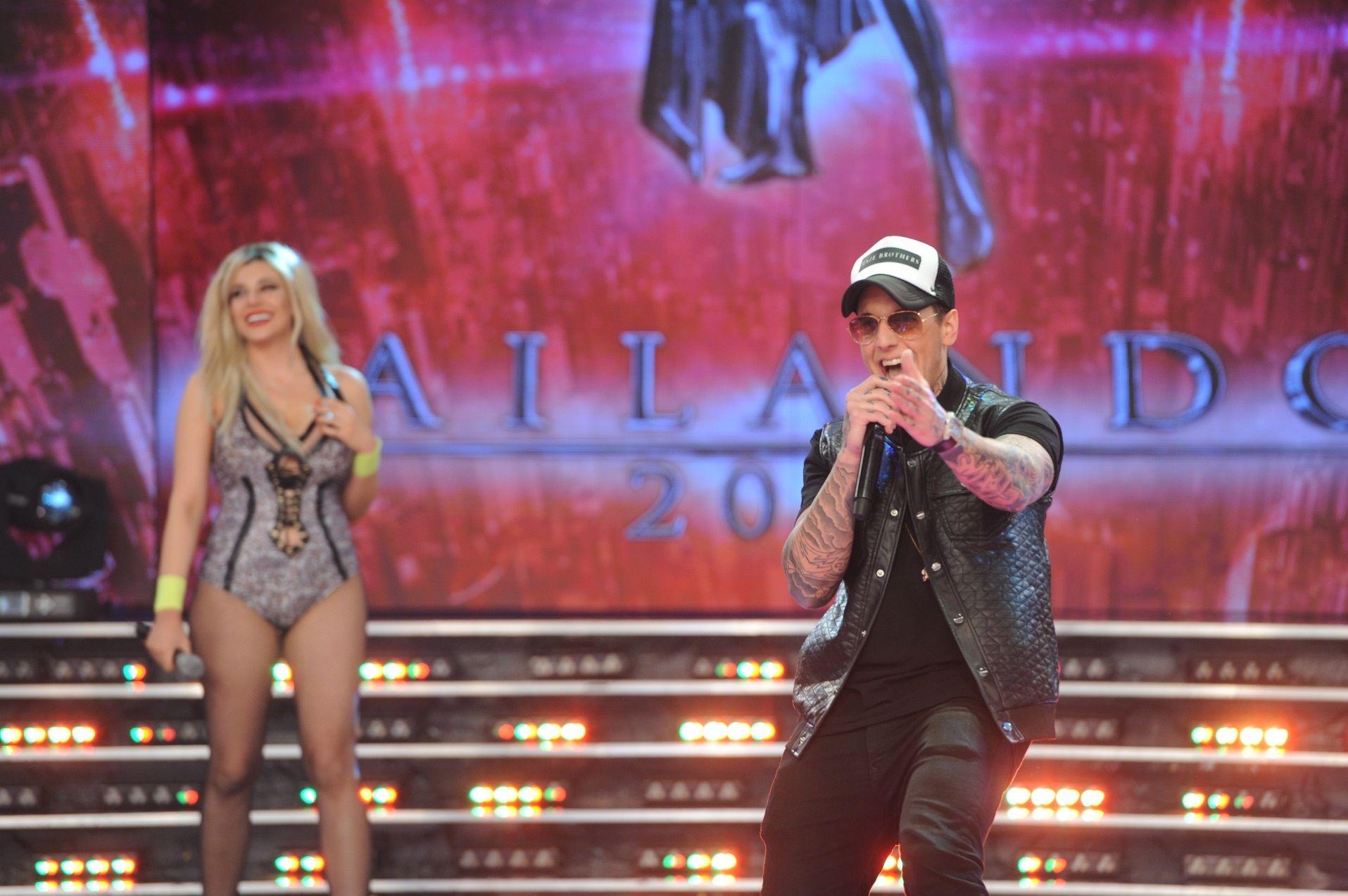 Charlotte Caniggia: show con Alexander en la previa y fracaso en el reggaetón