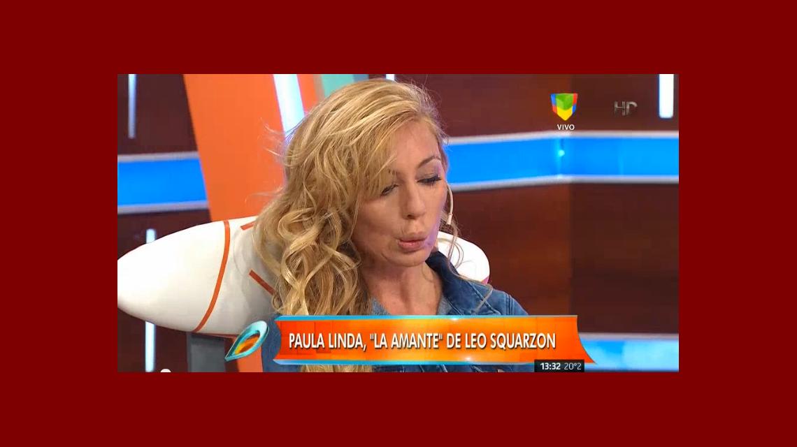 El show de caras y looks de Paula Linda en la televisión