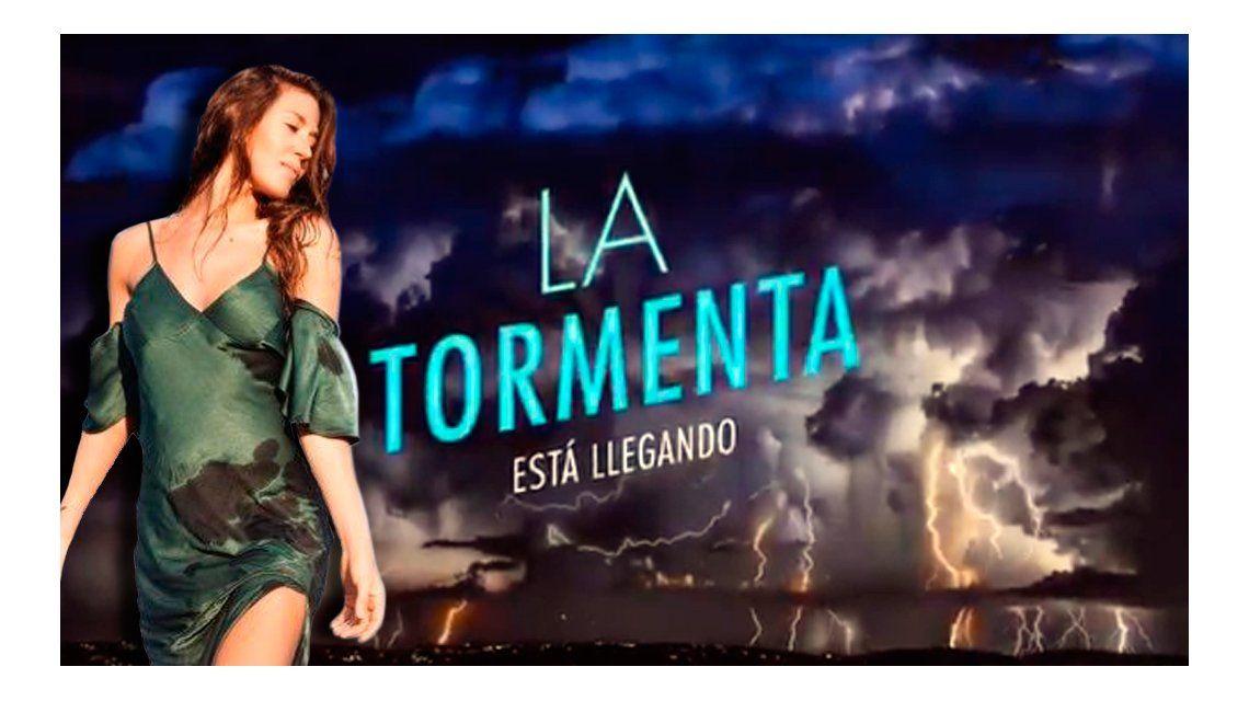 Jimena Barón presentó un adelanto de su nuevo tema, La tormenta