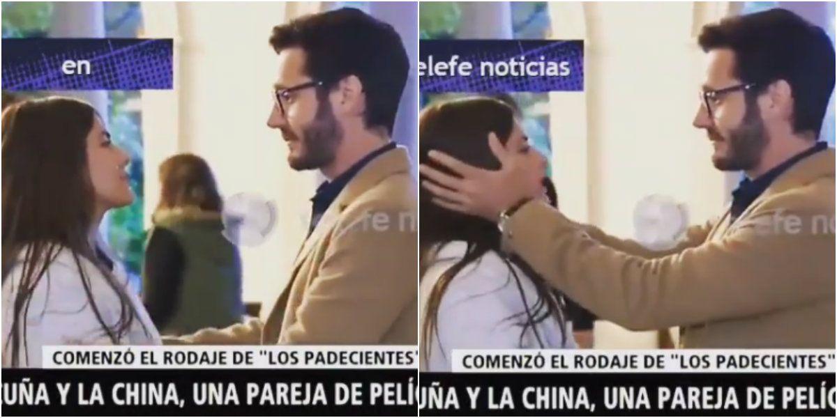 VIDEO: las primeras imágenes de la China Suárez y Benjamín Vicuña, juntos, en Los Padecientes