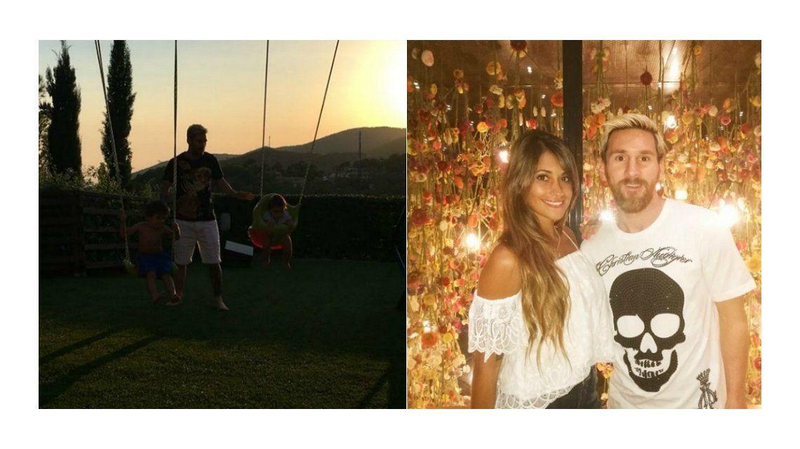 Un papá genial: el video más tierno de Lionel Messi con sus hijos