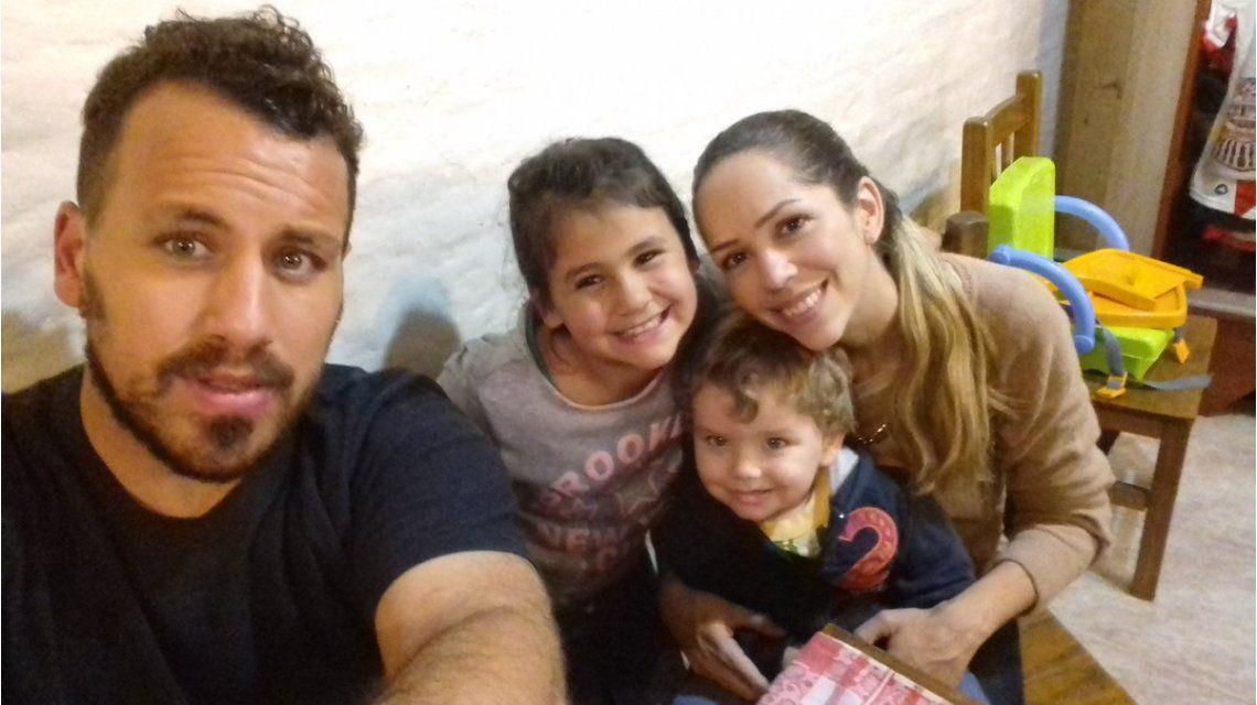 En medio del escándalo de Amalia Granata, el Ogro Fabbiani se ocupa de su hija Uma: mirá las fotos