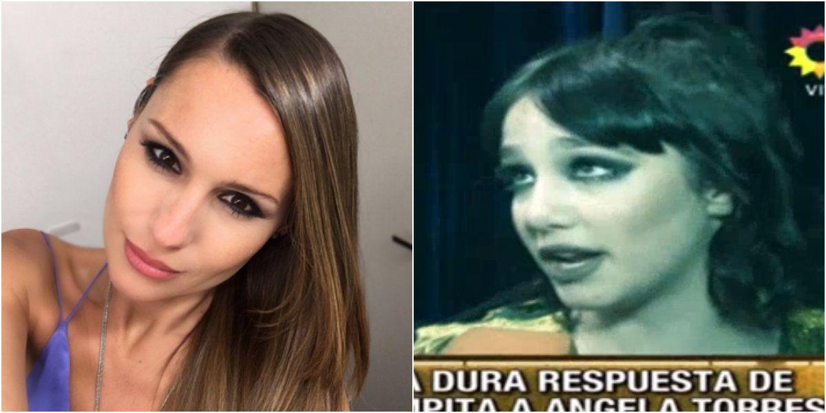 Tras el cruce en ShowMatch, Ángela Torres volvió a desafiar a Pampita: ¿Y ella perreará?