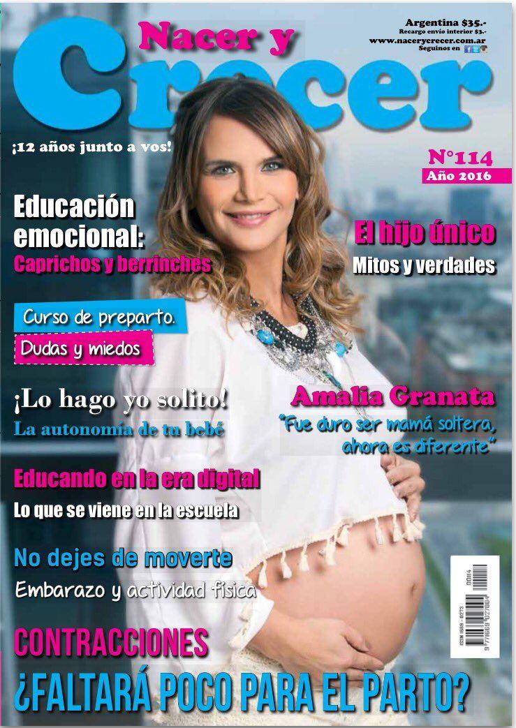 Amalia Granata publicó la tapa de una revista hablando de su pareja: Fue duro ser mamá soltera, ahora es diferente