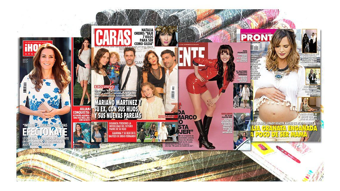 Mir las tapas de las revistas de esta semana natalia for Revistas de espectaculos de esta semana